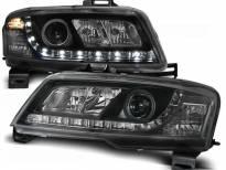 Комплект тунинг фарове с LED светлини за Fiat STILO 3D 10.2001-2008, ляв и десен