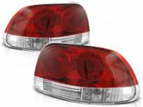 Комплект тунинг стопове за Honda CRX DEL SOL 03.1992-1997 с червена и бяла основа , ляв и десен