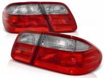 Комплект тунинг стопове за Mercedes W210 E-класа 1995-03.2002 седан с червена и бяла основа , ляв и десен