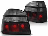Комплект тунинг стопове за Volkswagen GOLF 3 09.1991-08.1997 хечбек, кабрио с червена и опушена основа , ляв и десен
