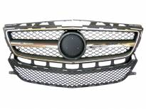 AMG Chrome/Black grille for Mercedes CLS class W218 after 2012 without PDC