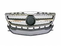 AMG Chrome/Black grille for Mercedes CLS class W218 after 2012 with PDC