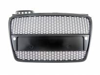 RS Black grille without emblem for Audi A4 2004-2008 with PDC