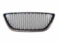 Black grille without emblem for Seat Ibiza after 2008