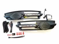 Специфични дневни светлини за Audi A6 2004-2008 за S Line броня