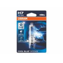 H7 Cool Blue Intense Halogen Light Bulb by OSRAM, 12V, 55W, PX26d, 1 piece