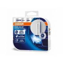 D2S Cool Blue Intense Xenon Lamps by Osram, 85V, 35W, P32d-2, 2 piece set
