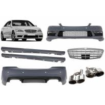 AMG bodykit type S65 for Mercerdes S class W221 2006-2013 for long base