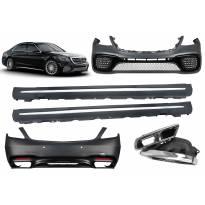 AMG пакет тип S65 за Mercedes S класа W222 след 2017 година дълга база