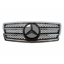 AMG Chrome/Black grille for Mercedes C class W202 1993-1997