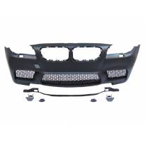 M5 Front Bumper for BMW 5 series F10 sedan/F11 station wagon 2011-2013 with M5 covers/without PDC/with washer cover cap