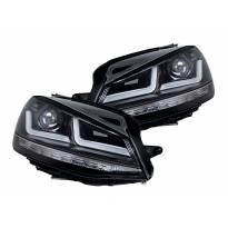Комплект LED фарове Osram LEDriving Black Edition за VW Golf VII 2012-2016, ляв и десен