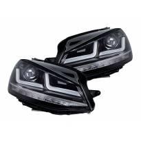 Комплект LED фарове Osram LEDriving Chrome Edition за VW Golf VII 2012-2016, ляв и десен