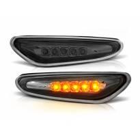 Комплект странични LED мигачи за BMW серия 3 E46 седан/комби 2001-2005 с опушена освана ляв + десен