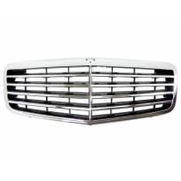 Avantgarde Chrome/Black grille for Mercedes E class W211 2006-2009