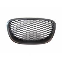 Black grille Honeycomb type without emblem for Seat Leon 2006-2009