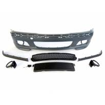 M technik Front Bumper for BMW 3 series E46 sedan/station wagon 1998-2005 halogens not included
