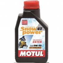 MOTUL SNOWPOWER 4T 0W40 1L