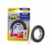 Двойно лепяща монтажна лента HPX 12mm/2mm черна