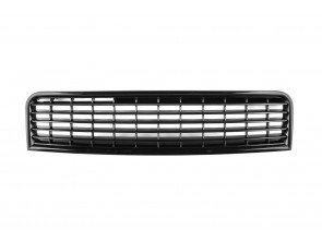 Black grille without emblem for Audi A4 2000-2004