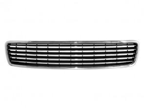 Chrome/Black grille without emblem for Audi A4 1994-2000