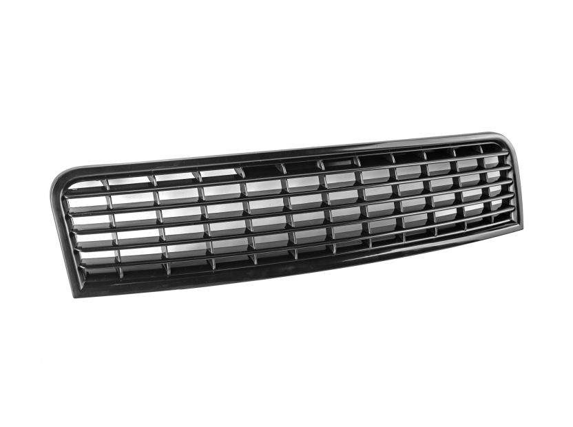 Black grille without emblem for Audi A4 2000-2004 - 3