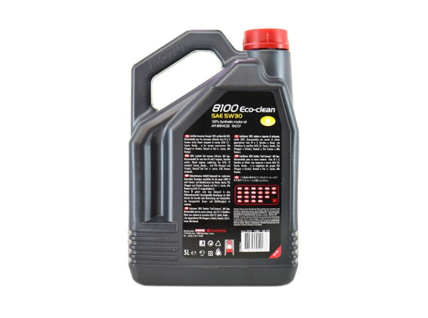 MOTUL 8100 ECO-CLEAN 5W30 5L - 2