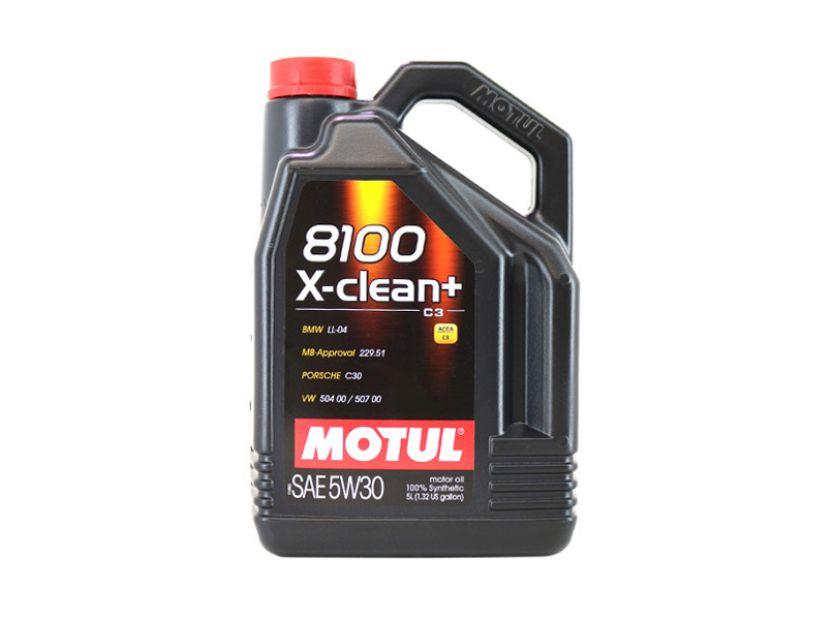 MOTUL 8100 X-CLEAN+ 5W30 5L - 1