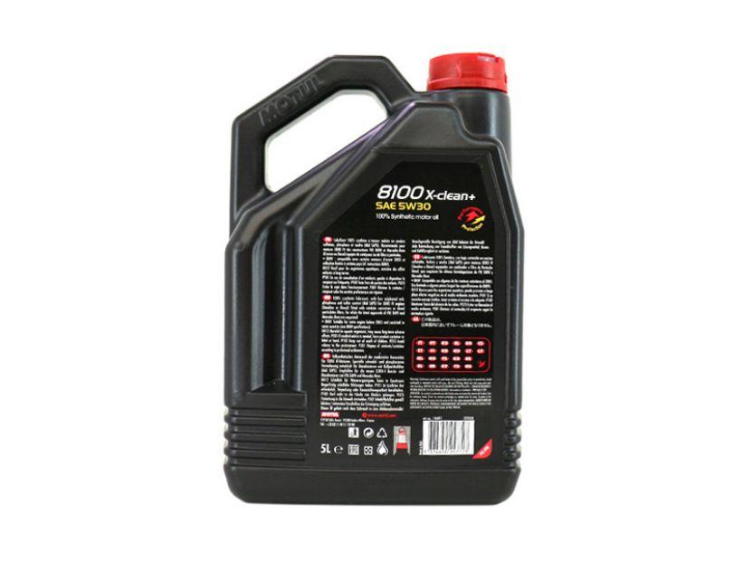 MOTUL 8100 X-CLEAN+ 5W30 5L - 2