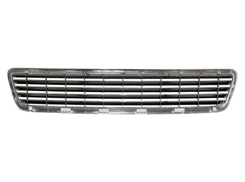 Chrome/Black grille without emblem for Audi A4 1994-2000 - 3