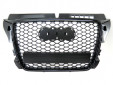 RS Black grille for Audi A3 2009-2011 without PDC